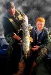 Allan with star Pike angler young Nick Thorpe