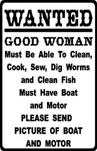 OK so wife's getting fed up with dirty, wet smelly clothes being dried in front of the log burner so hence this vacancy...lol sure she was only joking but just incase.....